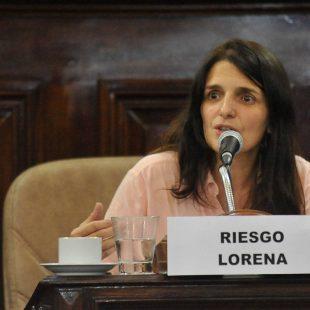 """Lorena Riesgo: """"El aumento de las tarifas impacta muchísimo sobre la producción de los floricultores""""."""