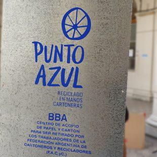 Instalan un Punto Azul en el Barrio Hipódromo