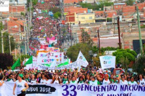 La Plata será sede del 34 Encuentro Plurinacional de Mujeres
