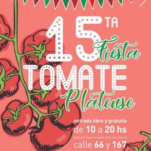 Se viene la 15° Fiesta del Tomate Platense