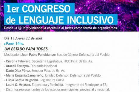 Lenguaje Inclusivo: Hay que reconocer a las familias cis género como responsables de las exclusión de las personas trans»