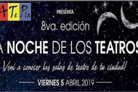 Se viene una nueva Noche de Los Teatros en La Plata