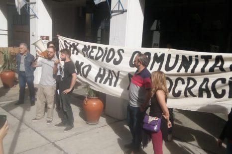 Protesta de los Medios Populares y Comunitarios