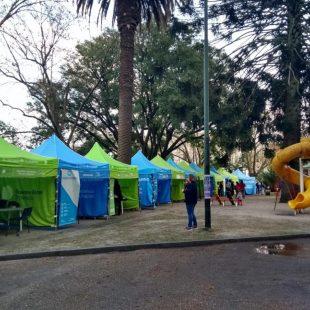 """""""El estado en tu barrio"""" en Plaza Alsina"""