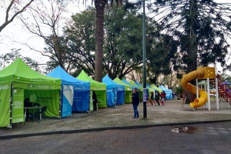 «El estado en tu barrio» en Plaza Alsina