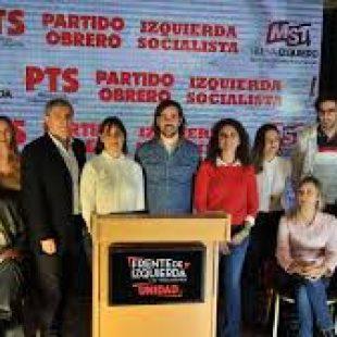 Del Caño: «El frente de izquierda muestra coherencia sumando al MST»