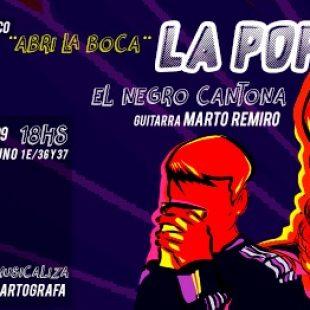 """Paulina La Popi presenta su disco: """"Son mensajes para ámbitos de militancia"""""""