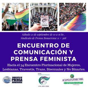 21/09|Encuentro de Comunicación y Prensa Feminista