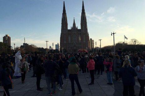 Movilización «GARRO YA FUE» en Plaza Moreno