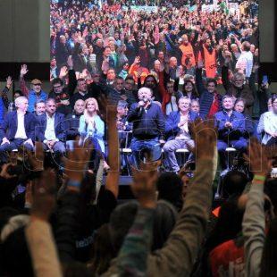 """""""La unidad es a partir del retroceso sindical en todo el continente"""""""