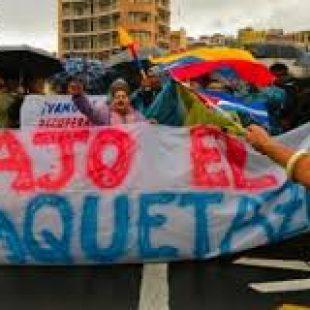 """CRISIS EN ECUADOR: """"Lenin Moreno traicionó el programa con el que llegó a la presidencia"""""""