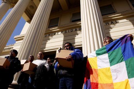 CACIQUE POLVAREDA: «Fue decapitado por su territorio y ahora vuelve con nosotros»
