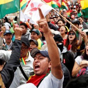 """«Estamos unidos para que se vaya la derecha fascista nefasta de Bolivia"""""""