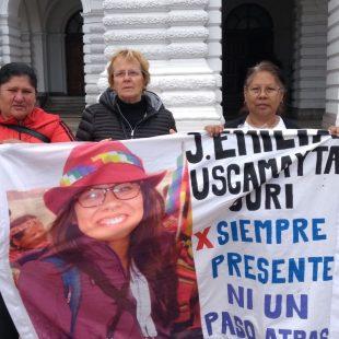 En 2022 será el juicio por Emilia Uscamayta Curi