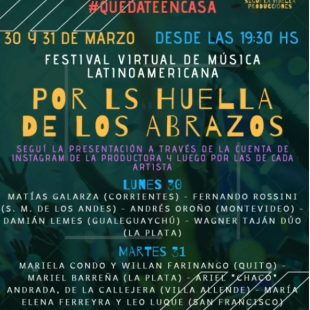 Festival de música latinoamericana, on-line