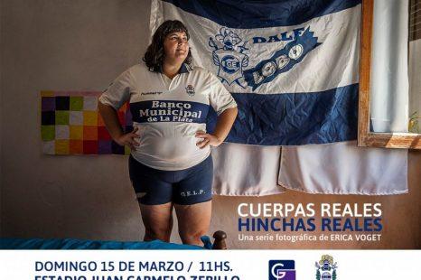 «Cuerpas reales, hinchas reales» en el club Gimnasia y Esgrima de La Plata