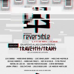 Festival Reversible online en apoyo a trans y travestis de La Plata