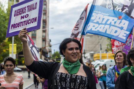 «Las travestis y trans somos un colectivo en factor de riesgo constante»