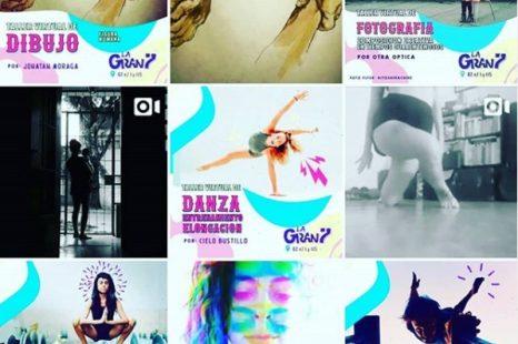 LA GRAN 7 resiste la cuarentena con clown, danza, impro, yoga y más trabajo on-line