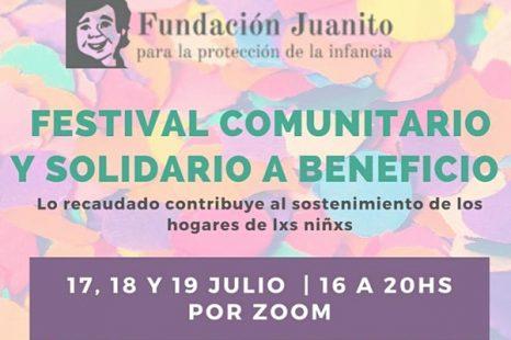 Festival solidario on line para la fundación de niñez Juanito
