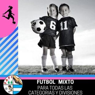 FAFI: una liga de baby fútbol que anunció el fútbol mixto para todas sus categorías y divisiones de fútbol infantil