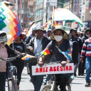 «La lucha del pueblo boliviano debe ser liderada por el pueblo boliviano»