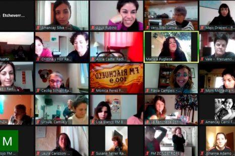 Radio Estación Sur participó de #Enredadas el encuentro de comunicadoras de FARCO