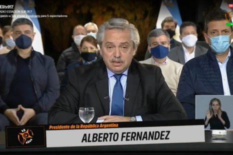 Alberto a Policias: «Queremos hacer una Argentina más igualitaria»