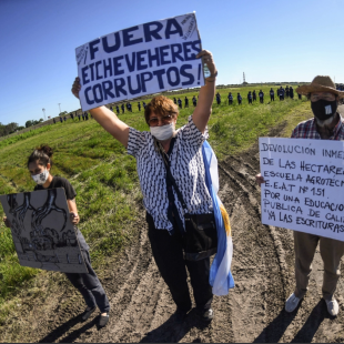 «El 45% de la tierra agrícola está concentrado en el 5% de las familias del país»