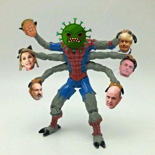 El tour de los líderes con Coronavirus
