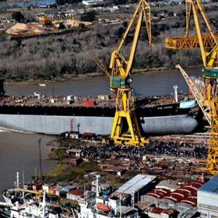 Trabajadores de Astillero Río Santiago en «estado de alerta» por atraso en el pago de sueldos
