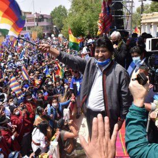 «El MAS es una fuerza política que volvió a pesar de un año cargado de golpes»