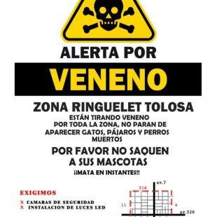 «Es un veneno muy fuerte y peligroso, tanto para animales como para adultos y niños»