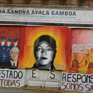 A 14 años del femicidio convocaron para exigir la reapertura de Casa Sandra