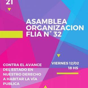 Asamblea para la organización de la FLIA n° 32