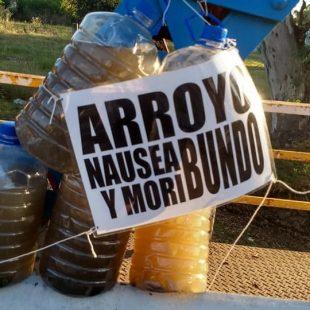 Concentrarán esta tarde en las puertas de ADA por la contaminación del Arroyo Rodríguez
