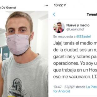 Vacunación VIP: acusaron a un periodista inventando un parentesco con Axel Kicillof