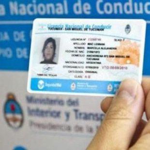 La provincia extendió los vencimientos de licencias de conducir