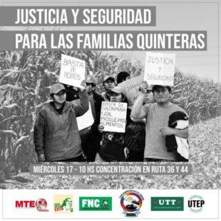 Trabajadorxs del cordón florihortícola denunciaron robos y zonas liberadas