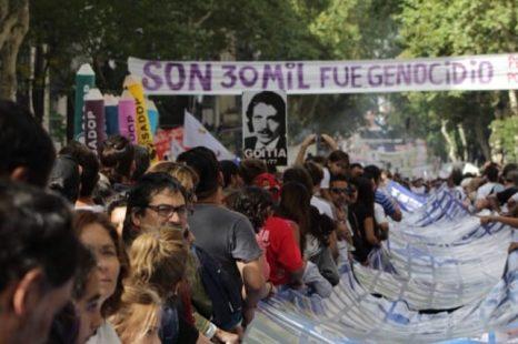 Por la situacion epidemiologica, se suspende la marcha del 24 de marzo