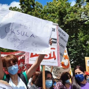 Marcharon en La Plata por Úrsula y en reclamo de medidas para evitar femicidios