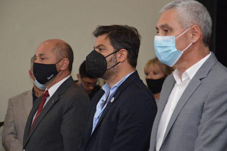 Con anuncios de obras públicas, Cagliardi dejó inaugurado el periodo de sesiones