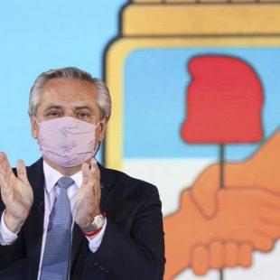 Alberto Fernández asumió como presidente del PJ