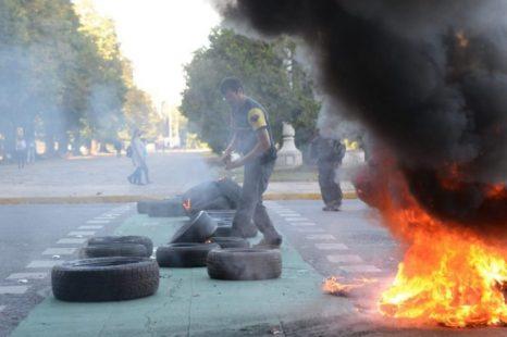 El municipio denunció penalmente a los cooperativistas que protestaron