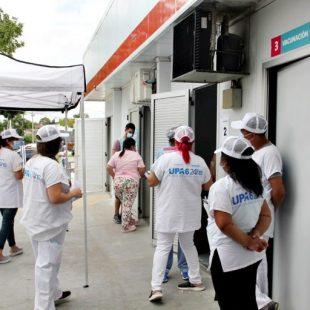 La UPA 6 de Los Hornos comenzó a vacunar