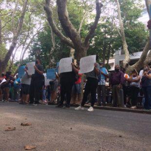 Vecinos se manifestaron contra la inseguridad
