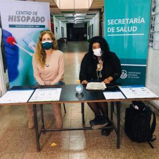 La UNLP inauguró un Centro de Hisopados para su comunidad educativa