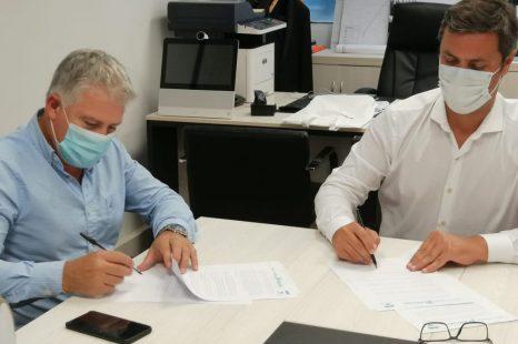 La subsecretaría de transporte firmó un acuerdo con la ONG Corazones Azules