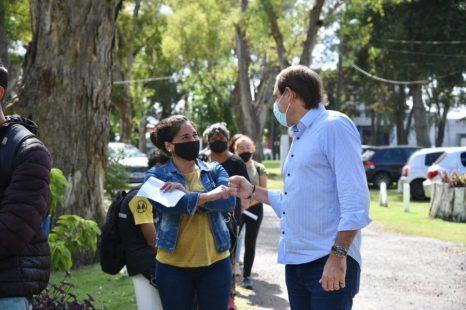 Garro se reunió con los cooperativistas que formarán parte del municipio