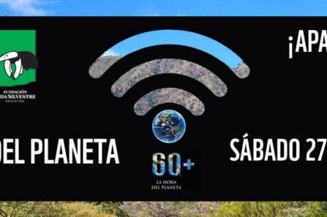 La Plata se suma a «La hora del planeta»